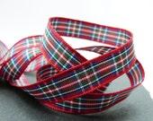 Royal Stewart Scottish Tartan Ribbon 10mm Wide Berisfords Per Metre
