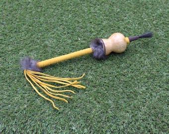Native American Inspired Gourd Rattle/Shaker. Dance Rattle