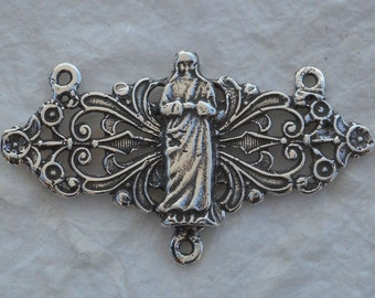 Blessed Teresa of Calcutta - Bronze or Sterling - Rosary Center - Mother Teresa of Calcutta - Reproduction - Made in USA (R-1334))