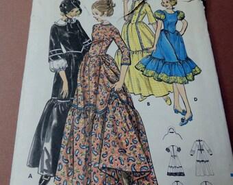 Butterick 5939 Costume pattern bust 32 1/2 Uncut