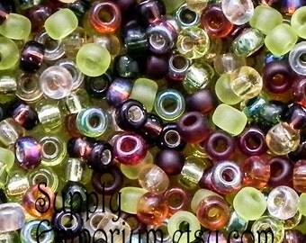 Miyuki Size 8/0 Seed Bead Mix - 17-18 Grams - Earthtone 8/0 Seed Bead Mix - 1772 - Miyuki Earthtone Seed Bead Mix