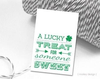 St. Patrick's Day Tags Printable Digital Download Saint Patrick's Day St. Patrick's Tags Favor Tags Gift Tags Shamrock Tags Green Tags