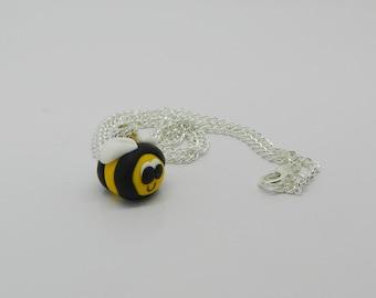 Buzzy Bee Necklace