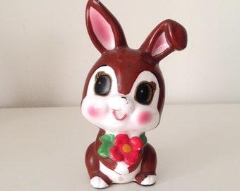 SALE- Vintage Ceramic japan rabbit Figurine