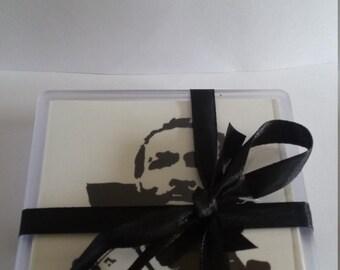 Marvin Gaye Acrylic Coaster set