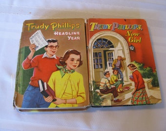 Trudy Phillips Vintage Childrens' Books, by Barbara Bates, 1950's