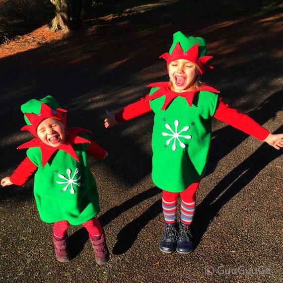 Santa's Elf Costume For Kids