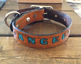 Custom Leather Pet Collar