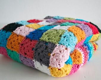 Pattern Patchwork blanket Elmer