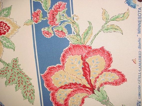 3 1 8 yards guell lamadrid minnesota rare spanish floral - Guell lamadrid ...