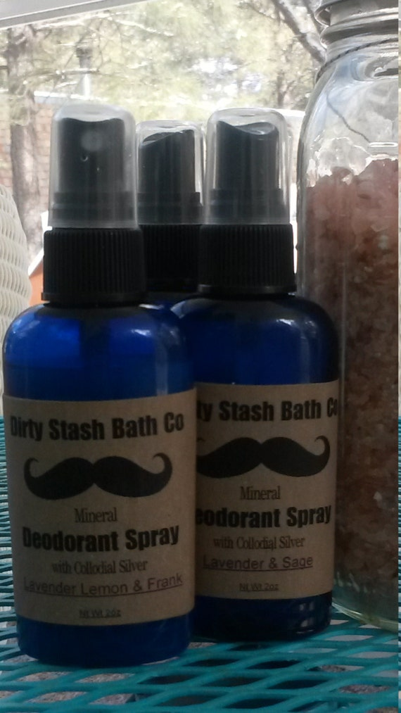 Super Strength Mineral Deodorant Spray with Magnesium & Collodial Silver-Cedarwood Lime 2 oz