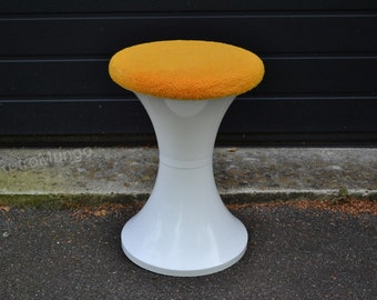 Original  vintage stool mid century 70s  Isoklepa - made in France
