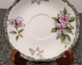 Beautiful Handpainted China Saucer