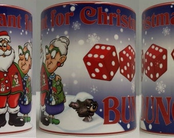 Christmas Bunco Mug