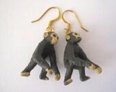 Funky Monkey Dangle Earrings