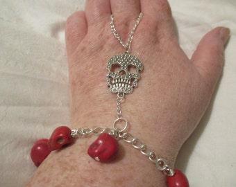 Skull Slave Bracelet