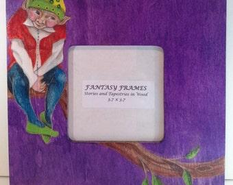 FANTASY FRAMES, Elf on Branch