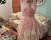 Fairytale Wedding Marilyn goes Pixie Pink Enchanting Ensemble~ Custom order for Vicky~ final Payment~