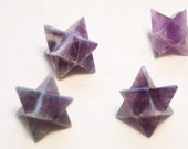 Amethyst Merkabas 4 for one low price wholesale 6th 7th Chakra Healing