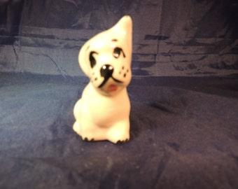 Vintage China White Puppy Dog Figurine