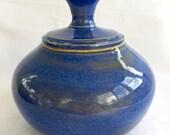 Bright Blue Jar