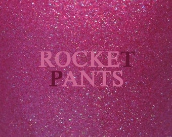 "Rocket Pants holographic glass fleck nail polish 15 mL (.5 oz) from the ""Boys from the Dwarf"" Collection"