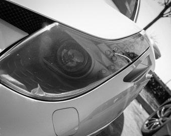 Ferrari 458 Italia, Photography, fine art Photography, Black and white, wall art, home décor, car photography, vintage, auto, gift, print