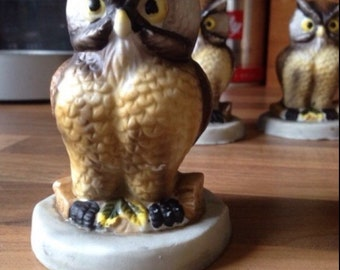 Vintsge Owl Ornament