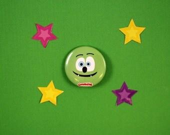 Gummibär (The Gummy Bear)  Flat Face Button