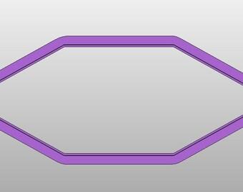 6-sided polygon