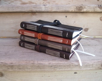 Leather hand bound journal / sketchbook / diary /notebook