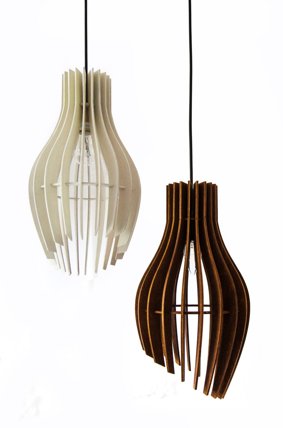 stripes pendant light wood lamppendant lighting plywood