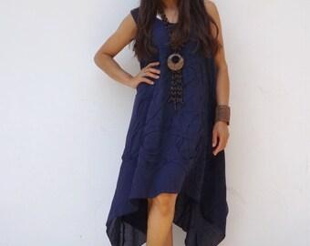 Dress   ...Summer Dress  ....Color Blue