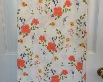 "Vintage Vera Neumann Cotton Tablecloth  60"" X 100"""
