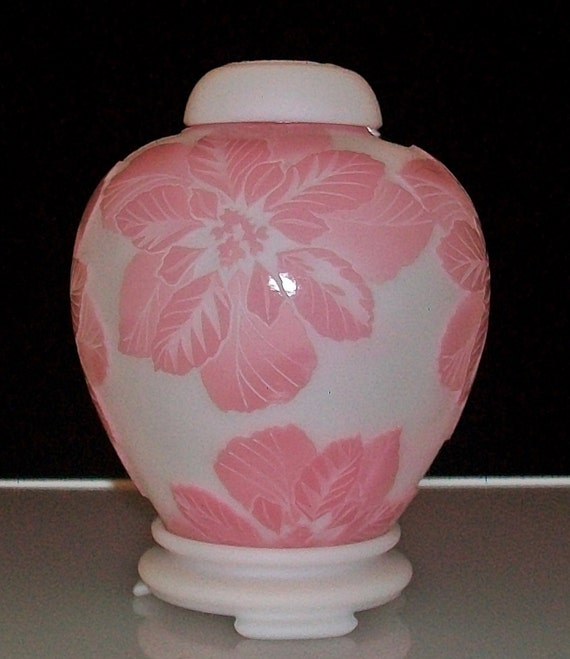 Limited Edition ~ Fenton Carved Cameo