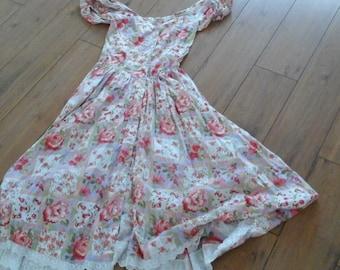 Vintage dress size 10