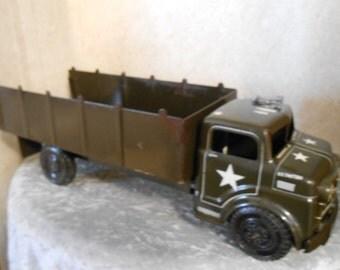 1950's Marx Metal Army Truck