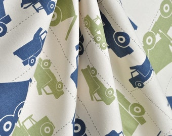 One pair of toy truck curtains