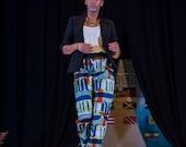 African printed mbolo pants