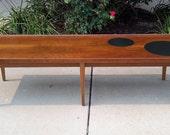 Mid Century Modern Danish Inspired Long Coffee Table