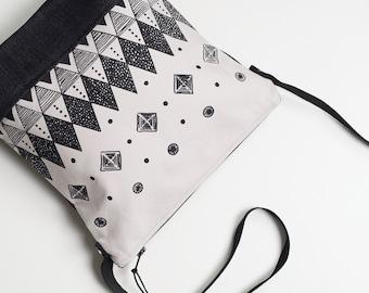 Day bag, Field Bag, Travel Bag, Screen printed Bag, Denim Bag, Hand bag