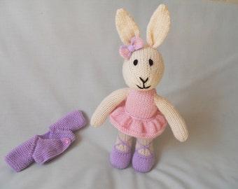 Rabbit,  Lily the Ballerina Bunny , Toy Rabbit, Toy Bunny Ballerina, Ballerina Rabbit, Ballerina Doll baby, child gift