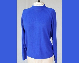 SALE Cobalt Blue Sweater by Hampshire Studio
