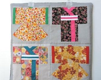 Kimono Quilt Block Paper Pieced PDF