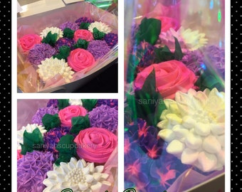 Cupcake Bouquet SC11~ (Local Delivery Only )Philadelphia & Surrounding Areas
