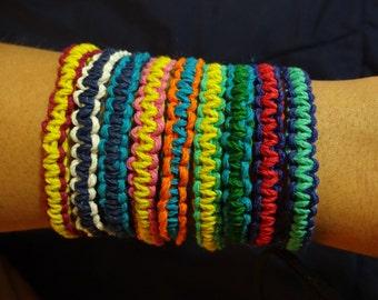 Woven Hemp Bracelets
