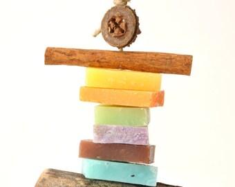 Soap decoration of 13cm.