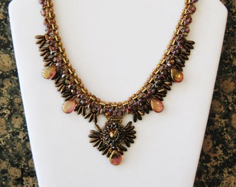Fanciful Feathers Necklace