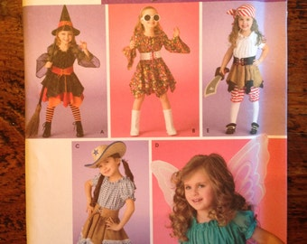 Simplicity 3680 pattern costumes child size 3,4,5,6,7,8 factory folded