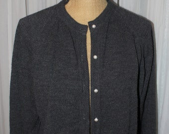 Vintage 1980's Cardigan / Sweater By Designers Originals